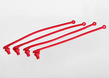 TRAXXAS 5752 Sicure per clips Carrozzerie Rosse/BODY CLIPS RETAINER RED TRAXXAS