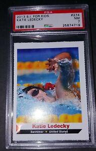 2013 Katie Ledecky Sports Illustrated for Kids PSA 7 Graded Card Swimmer