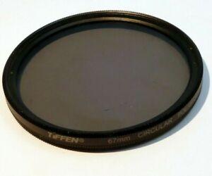 Tiffen 67mm Circular Polarizer CP-L Lens Filter Made in USA