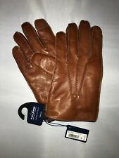 TM LEWIN: ITALIAN TAN GLOVES
