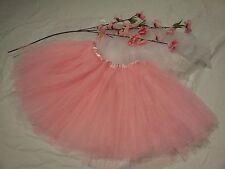 Lovely girls LIGHT PINK ballet TUTU fairy princess skirt dress up costume