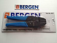 Bergen Professional Ratchet Type Crimping Tool