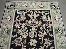 """lovely Kashmir needlepoint rug ( 5ft.9"""" x 3ft.10"""" )"""