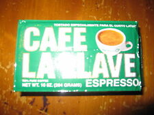 La Llave Cuban Coffee Grounds Authentic Cafe Cubano