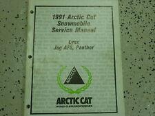 1991 Arctic Cat Lynx Jag AFS Panther Service Repair Shop Manual FACTORY OEM x