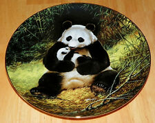 Collector Plate The Panda Last of their Kind Endangered Species Series