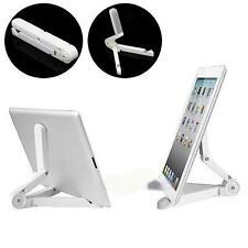White Portable Foldup Stand Holder Bracket for i Pad Mini Kindle Tablet Samsung