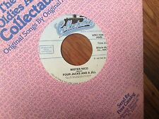 Four Jacks and A Jill-Mister Nico-Master Jack Unplayed 45 rpm