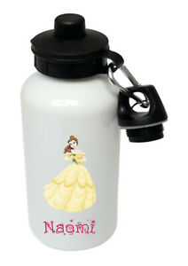 Belle,Beauty and the Beast-Personalised Kids/Drinks/Sports water bottle