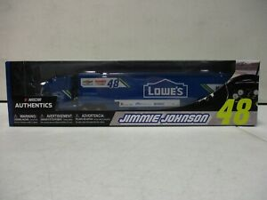 2017 NAscar Authentics Jimmie Johnson Lowes Transporter 1/64