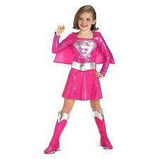 Costumes for All Occasions Ru882751sm Supergirl Pink Child Small