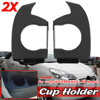 For CITROEN DS3 All Models Cup Drink Holder 2X Right + Left Hand side 2009-2016