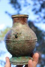 Genuine Chinese bronze banded jar – Shang 1200 BC to Han 200 AD dynasty