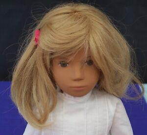 Vintage Sasha Girl Blonde Hair Doll Pintucks Trendon England Original Outfit