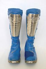 SIZE 10 MX BOOTS VINTAGE MOTOCROSS HI POINT AHRMA DIRTBIKE SUPERCROSS BOB HANNAH