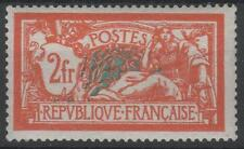 "FRANCE STAMP TIMBRE N° 145  "" MERSON 2F ORANGE ET VERT-BLEU "" NEUF xx TTB K448"