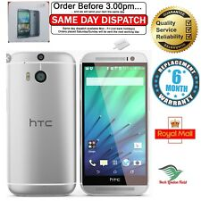 HTC One M8 - 32GB - SILVER  UNLOCKED NEW CONDITION +6 MONTHS WARRANTY