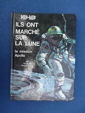 ILS ONT MARCHE SUR LA LUNE POP HOP HALLEMARK (NO TINTIN) 1971