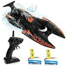 40Mins RC Boats - 2.4 GHz  Remote Control Boat for Pools and Lakes Toys for
