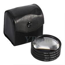 58mm Close Up Macro Lens Filter Set Kit +1 +2 +4 +10 For DSLR Digital Camera WD