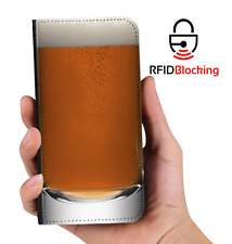 Beer Glass Luxury Flip Cover Wallet Card PU Leather Phone Case Stand iPhone