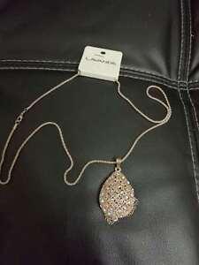 New Elegant Women decent Fashion Gold Fringe Pendant Memorable Necklace Chain