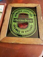 Heineken Vintage Beer Sign