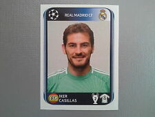 PANINI CHAMPIONS LEAGUE 2010 2011 - N.431 CASILLAS REAL MADRID