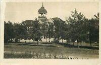 Bowers 1908 High School RPPC Photo Postcard Peabody Kansas 7489