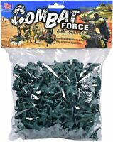 Combat Mission 160 Piece Plastic Toy Soldiers | Traditional Green