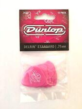 Dunlop Delrin Standard Guitar Picks Pink .71mm 12-Pack Acoustic or Electric