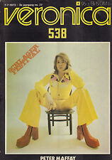 VERONICA 1973 nr. 27  - SCHLAGERFESTIVAL GEULLE SPECIAL / PETER MAFFAY (COVER)