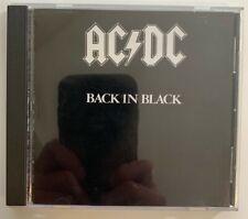 AC/DC - Back in Black CD 1994 Atco 92418-2 USA RE RM VG Hard Rock