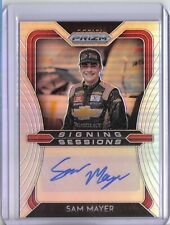 2020 Panini Prizm Racing Sam Mayer Auto Silver Prizm Signing Sessions NASCAR