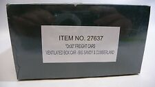 Bachmann Spectrum 27637 On30 Vent Box Car Big Sandy & Cumberland NEW Sealed