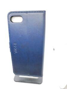 TUCCH iPhone SE 2020/7/8 Blue Leather Card Slot Shockproof Wallet Case