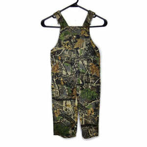 Cabela's Toddler Boys 3T Seclusion 3D Camo Hunting Bibs Overalls