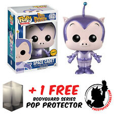 FUNKO POP LOONEY TUNES SPACE CADET METALLIC CHASE PIECE + FREE POP PROTECTOR