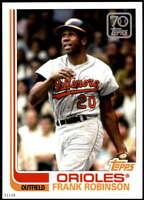 Frank Robinson 2021 Topps 5x7 70 Years of Topps Baseball #70YT-32 /49 Orioles
