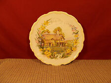 "Royal Albert China Cottage Garden Year Series Spring 1984 Salad Plate 8 1/2"""