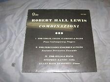 ROBERT HALL LEWIS Combinazioni LP ORION rare FACTORY SEALED