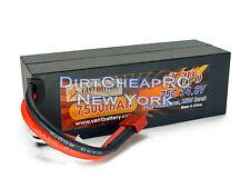 14.8V 7500mAh 75C 4S HardCase LiPo Battery Pack 1/8 Scale Buggy Truggy TKPC0630