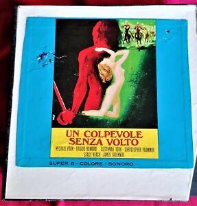 Un colpevole senza volto FILM SUPER 8 (4 Bobine) Colore Sonoro
