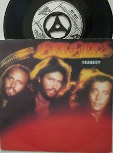 """BEE GEES ~ Tragedy ~ 7"""" Single PS"""