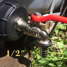 """IBC Adapter mit 1/2"""" Auslaufhahn für IBC- Regenwasser Tank und Kanister"""