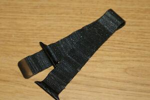 Genuine Apple Watch Milanese Loop Band Strap 44mm Black Steel Read