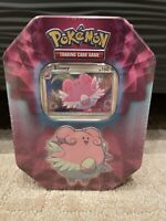 🔥Pokemon BLISSEY Collector Tin - Holo Card and 3 TCG 10 Card Booster Packs