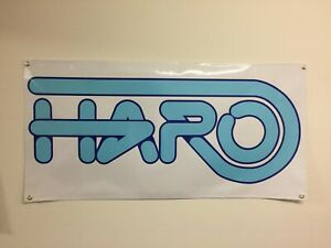 old school haro BANNER 4ft X 2ft vdc hutch gt se racing