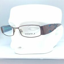 KOALI eyeglasses frame 6563K 49¤17 135 brown blue MM001 MOREL FRANCE Eyewear NEW