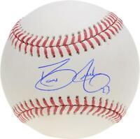David Justice Atlanta Braves Autographed Baseball Fanatics Authentic Certified